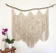 Midnight Soul Designs handcrafted, unique macrame