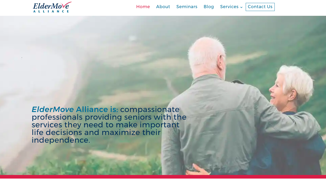 ElderMove Alliance has a new website built for ease of reading and navigation