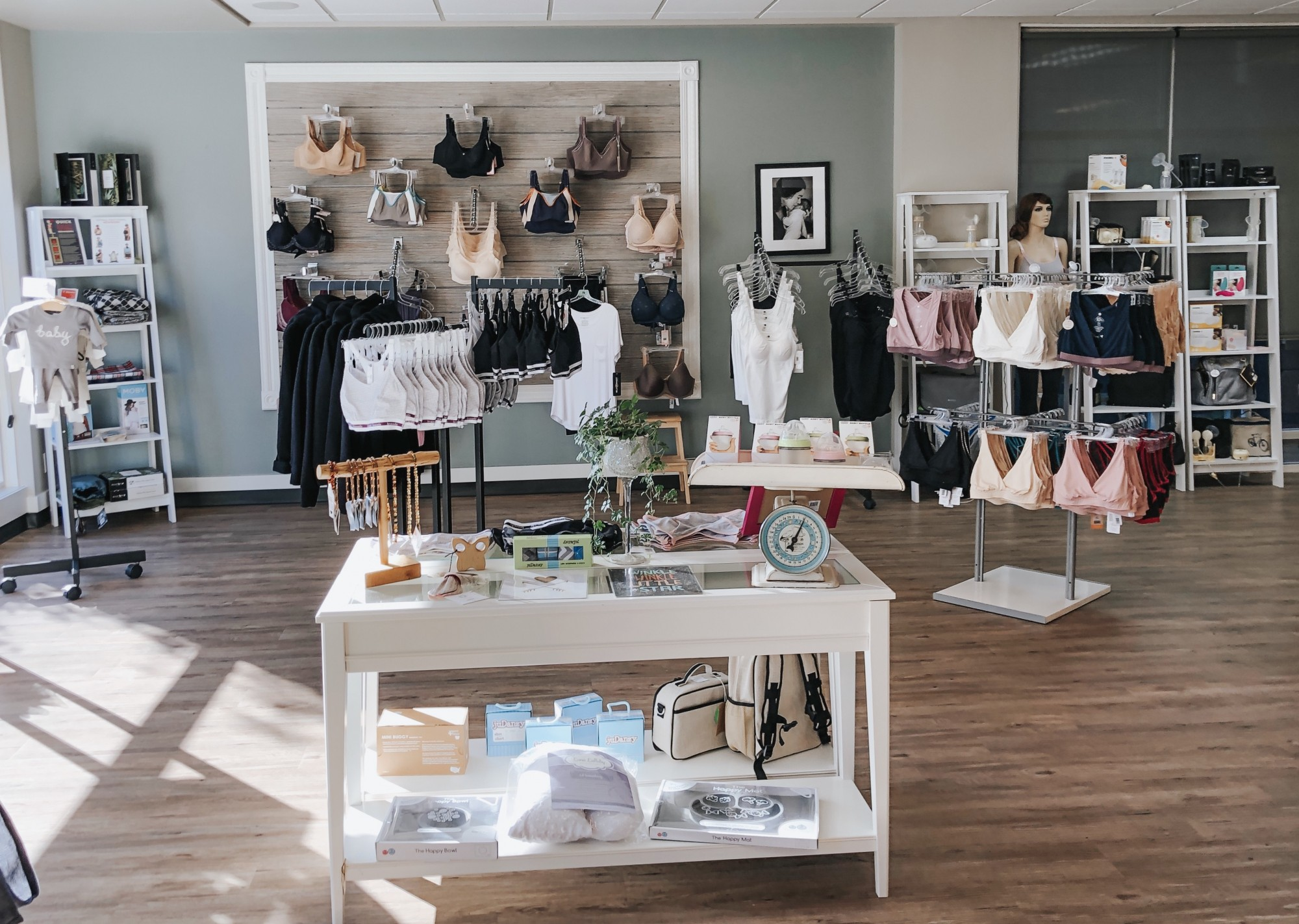 Nurturing Expressions boutiques are located in West Seattle, Tacoma, Poulsbo, and Tukwila