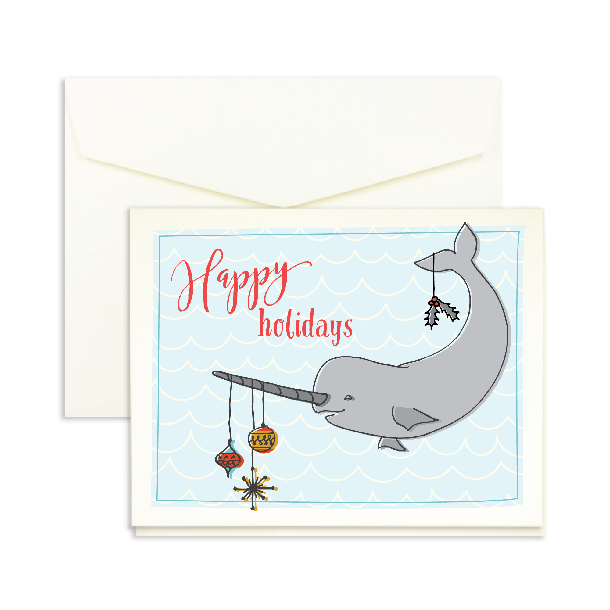 Marsupial Papers unique Holiday Cards